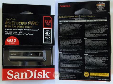 Sandisk Pro 128gb test pendrive a sandisk pro 128gb usb3 0