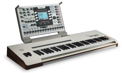 Keyboard Synthesizer arturia origin keyboard flaship synthesizer now shipping
