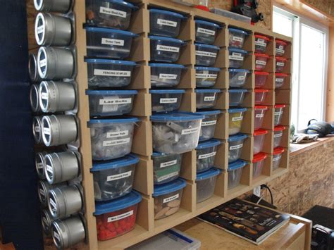 Woodworking Garage Storage Ideas Hardware Storage By Kmt Lumberjocks Woodworking