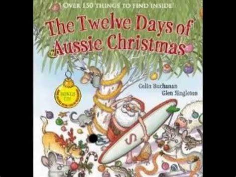 xmas tales australian funny the twelve days of aussie by colin buchanan glen singleton