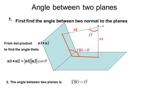 Where To Find To Planes In Three Dimensions Ppt