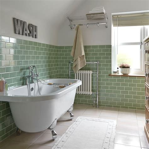 Green Bathroom Tile Ideas Traditional Bathroom Pictures House To Home