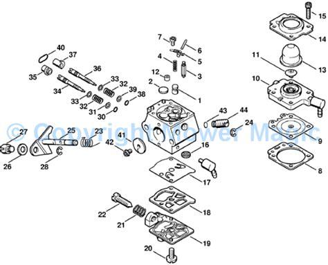 stihl bg 85 parts diagram stihl fs 75 parts list related keywords stihl fs 75