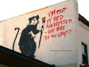 how was it who is banksy lacremedesign