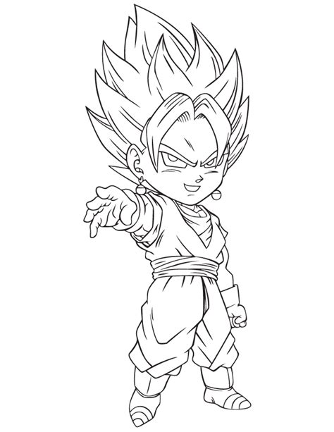 dragon ball z baby coloring pages dragon ball kai cartoon coloring page h m coloring pages