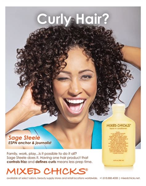 sage steele hair say hello to sage steele the new face of mixed chicks