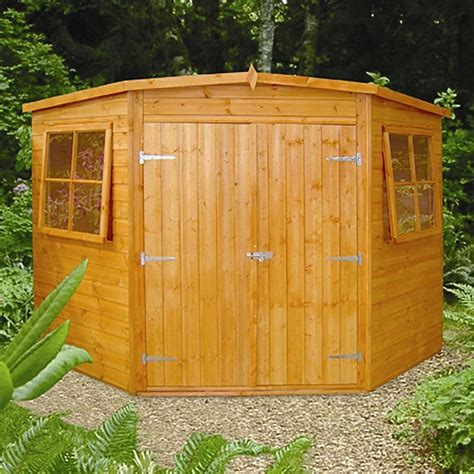 Shed Showroom by Top 5 Uses For Corner Sheds Garden