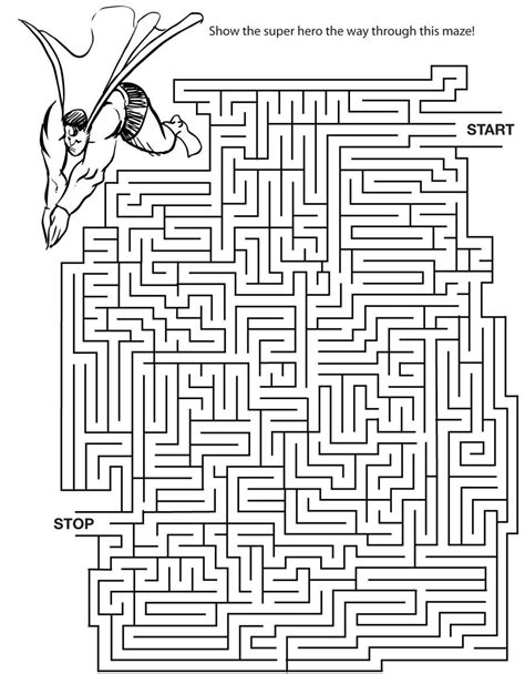 printable free mazes free printable mazes for adults high quality loving