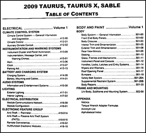 small engine repair manuals free download 2009 ford fusion on board diagnostic system service manual 2009 ford taurus engine manual ford taurus five hundred 2005 14 repair manual