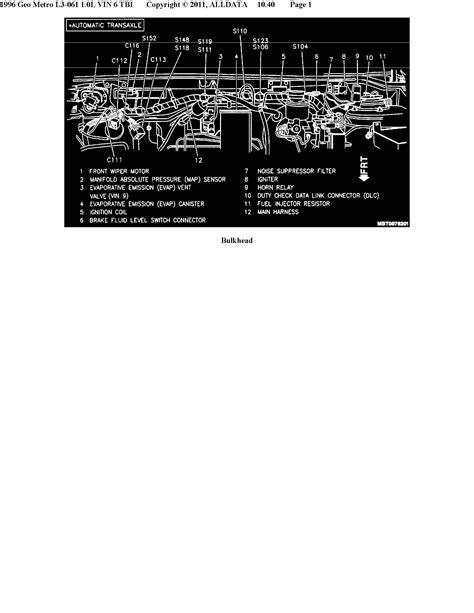 93 geo prizm stereo wiring diagram 93 geo metro wiring
