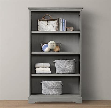 Marlowe Tall Bookcase Bookcases Storage Restoration Restoration Hardware Bookshelves
