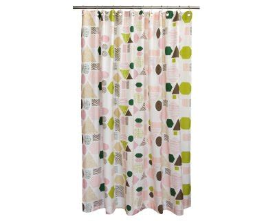 dwell shower curtain the lacquered peacock product spotlight dwell geometry