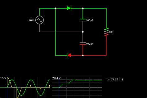 Home Windows Design Pictures by Voltage Doubler Circuit Simulator