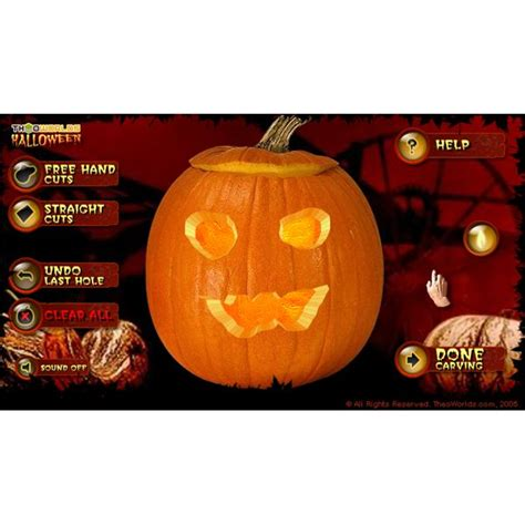 pumpkin carving games the best interactive halloween pumpkin carving games online