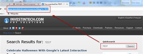 Search Engine Url Address How To Turn Your Address Bar Into A Custom Search Engine