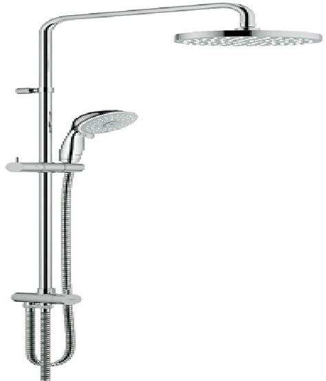 Grohe Shower Prices by Buy Grohe Bauclassic Shower System 27399000 At Low Price In India Snapdeal