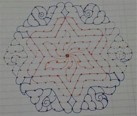 dot pattern rangoli rangoli designs with dots rangoli rangoli designs