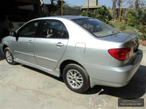 2005 Toyota Corolla Mpg Automatic Toyota Corolla Se Saloon Automatic 2005 For Sale In