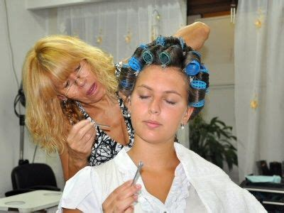 boy in curlers in salon 1000 images about curlers on pinterest salons curls