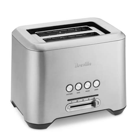 Brevelle Toaster Breville Bit More Toaster 2 Slice Williams Sonoma