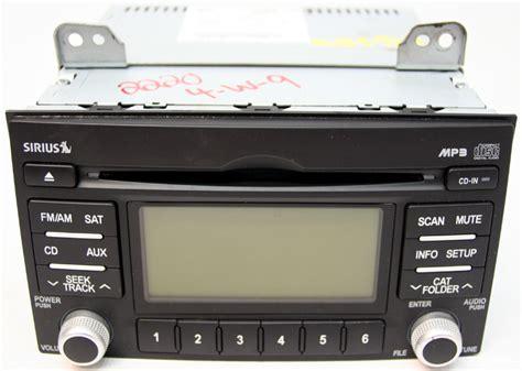 kia sedona radio 2009 2010 kia sedona factory am fm stereo cd player radio
