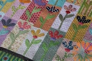 n quilt scrappy flower quilt custom machine