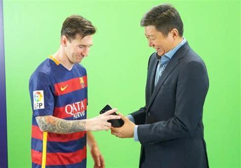 Advan Barcelona sponsor klub ini misi advan sponsori barcelona jutaan tekno 187 semarangpos