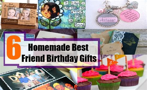 Handmade Gifts For Best Friend - 6 best friend birthday gifts bash corner