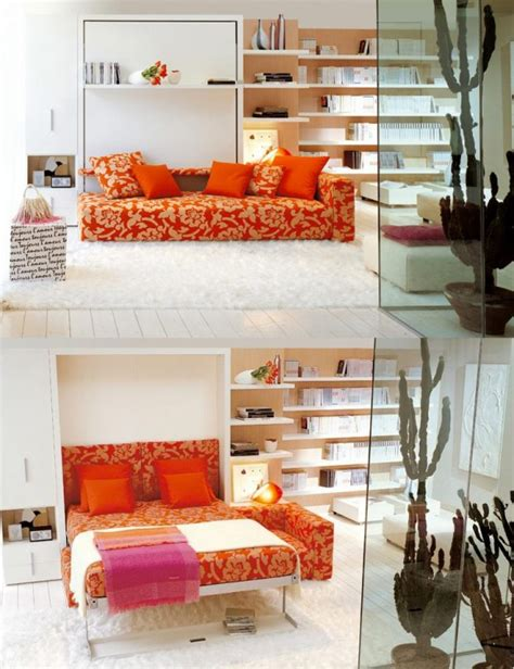 creative multi purpose furniture  small spaces ideas
