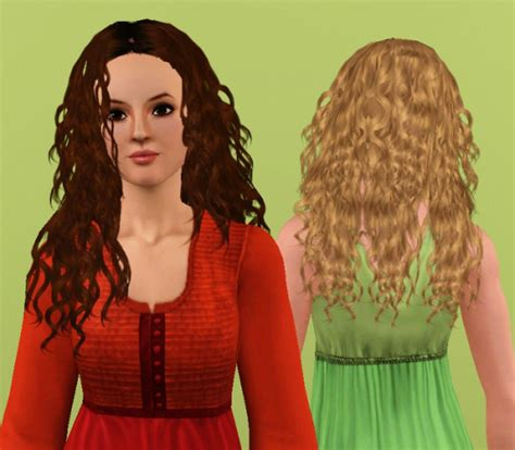 the sims 4 natural curly hair curly hair retextured by anubis360 at mod the sims sims