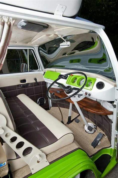 Vans Combi Leather best 25 kombi interior ideas on vw kombi