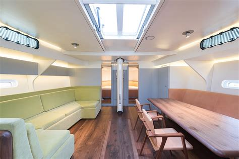 Cool Boat Interiors by Chipperfield Designs The Interior Of A New Boat Abitare
