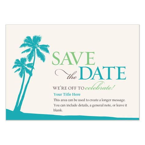tropical save the date invitations cards on pingg com