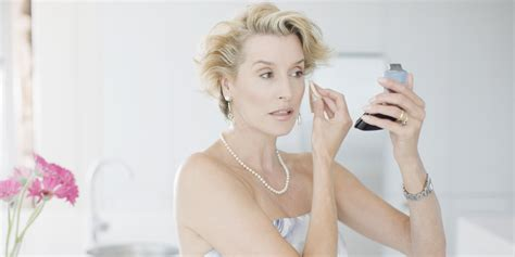 make up for women in their 70 watch the right way to apply makeup over 50 huffpost