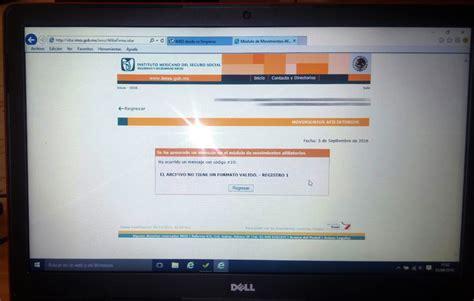 Cabinet Diot by Diot En Windows 10 Solucion Para Ingresar Al Idse Imss Y
