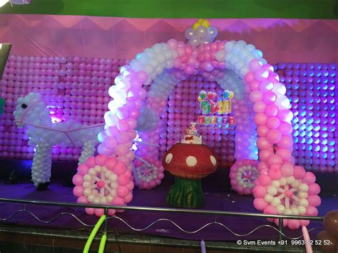 1st birthday decoration themes svm events chariot theme for 1st birthday and