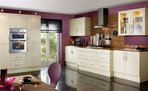 kitchen with purple wall paint choosing paint colors for you lovely kitchen house design ideas
