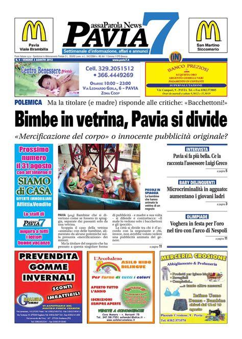 poste pavia orari pavia 7 n 9 venerd 236 3 agosto 2012 by netweek issuu