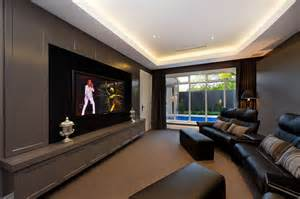 home theater hvac design built in wall unit in home theater contemporary with built