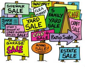 yard sale images