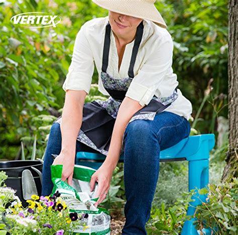 Ergonomic Gardening Stool by Garden Rocker Comfort Kneeling Bench With Large Contoured Sitting Area And Soft Foam Kneeling