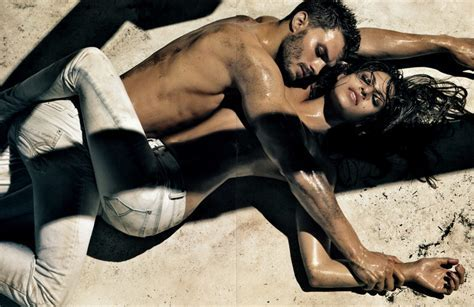 Eva Mendes Calvin Klein Jeans Spring Summer Ad Campaign Stylefrizz