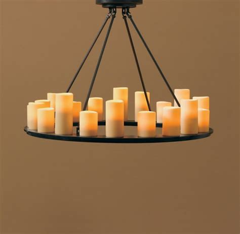 votive candle chandeliers