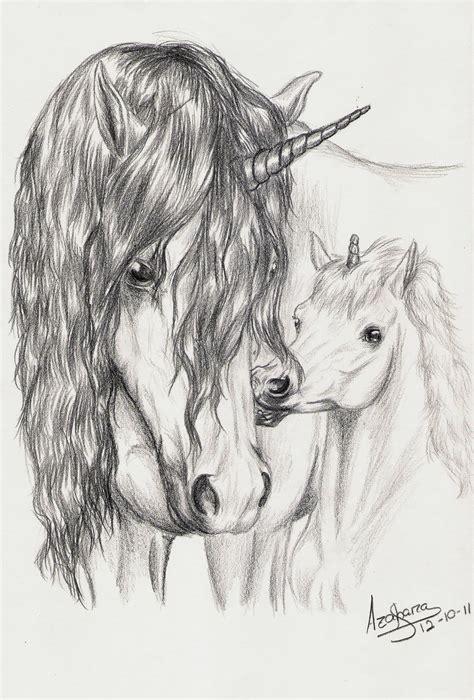 imagenes de unicornios sangrientos unicornios en dibujos a l 225 piz imagui