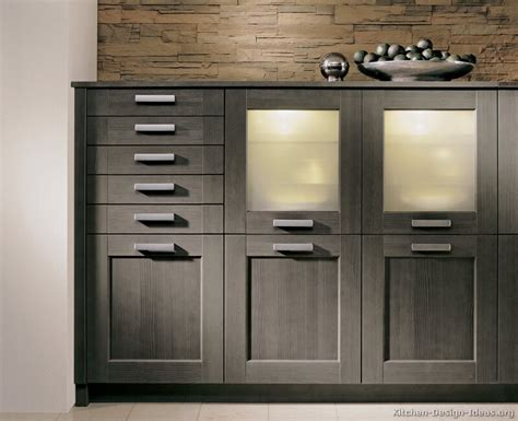 Modern Gray Kitchen Cabinets Pictures Of Kitchens Modern Gray Kitchen Cabinets Kitchen 6