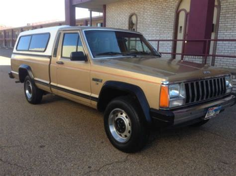 1985 jeep comanche purchase used jeep comanche x truck v6 only 55k