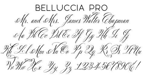 Wedding Running Fonts by Script Fonts Wiregrass Weddings