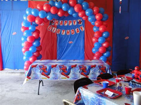 birthday themes spiderman spiderman birthday party ideas photo 1 of 7 catch my party