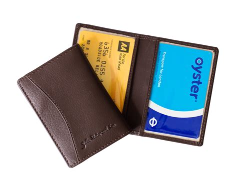 leather travelcard holder julie slater and son