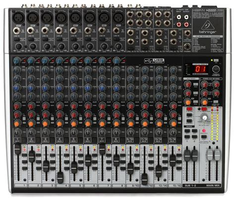 behringer xenyx x2222usb sweetwater